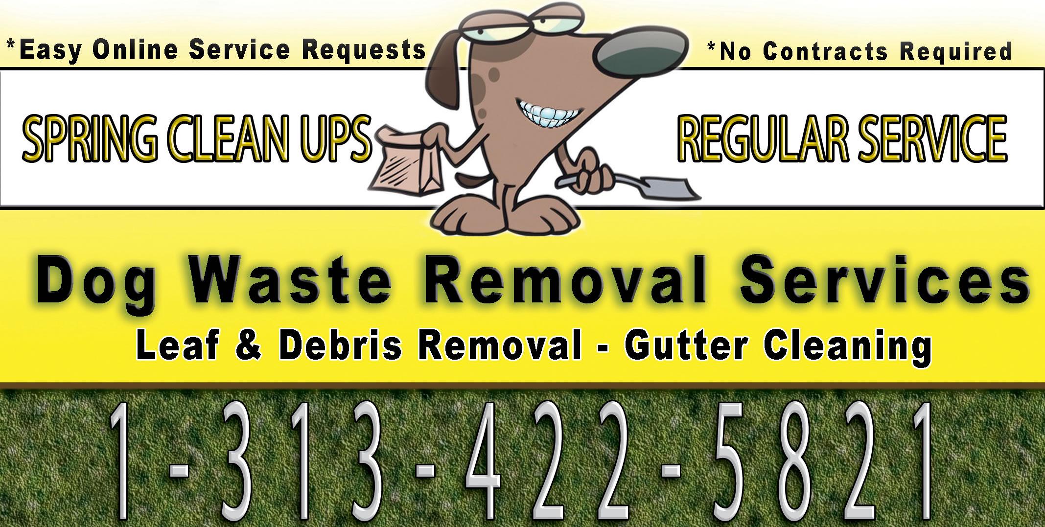 leaf removal flyer